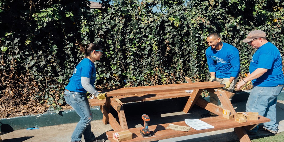 VAST hosts Mission Continues Torchbearer Reentry outdoor furniture build