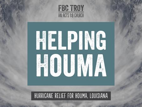Helping Houma