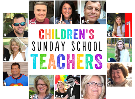 Meet the Children's Sunday School Teachers