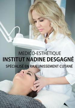publicité web Institut Nadine desgagné