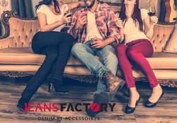 Publicité web Jeans Factory
