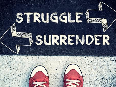 Surrender, Weakness or Strength?