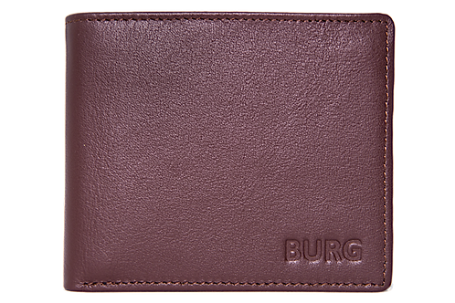 BROWN CLASSIC LEATHER WALLET - FULLY RFID PROTECTED