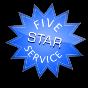 5-star service badge