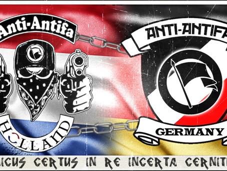 Damals Feinde, heute Freunde: Bündnis gegen die ANTIFA wird International
