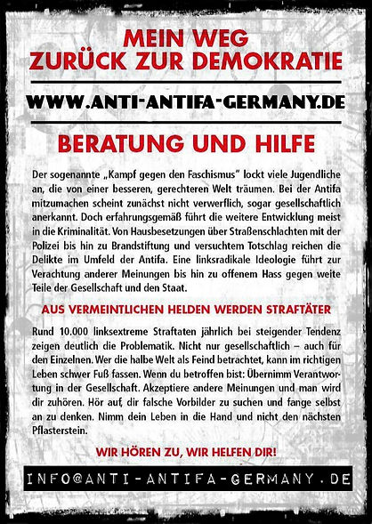 Antifa-Ausstieg Info