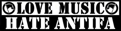 love music hate antifa