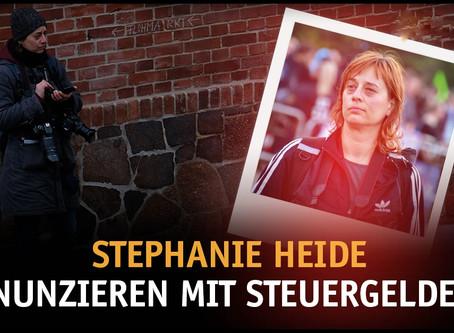 Stephanie Heide – Denunzieren mit Steuergeldern