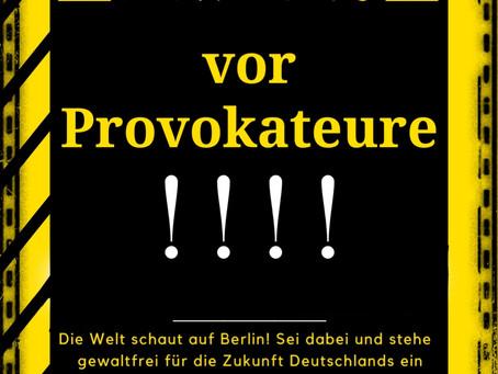 ❗#b2003 DEMO-BASICS❗ - Thema: Provokateure/-innen aus den eigenen Reihen heraus