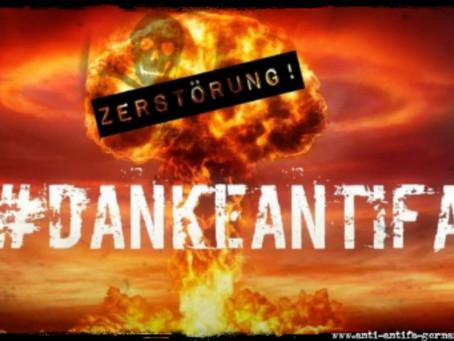 ES BEGINNT❗: Die Zerstörung vom Hashtag 💥 #DankeAntifa