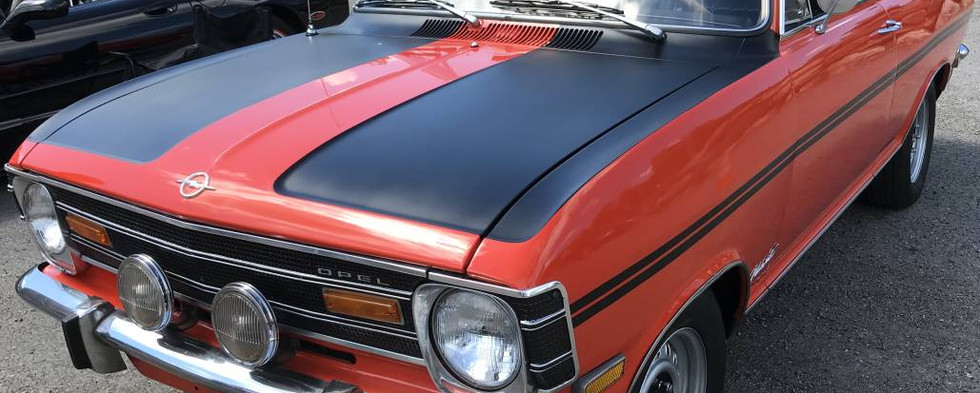 To best memory...this was the first Opel Kadett ever to check in at a CruisinBruce car event.  It was a '68 model.