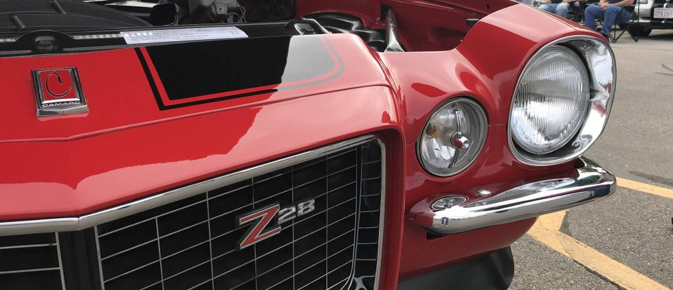 As Camaro entere a new decade, the Z/28 offered a whole new look with their re-bodied Camaro.