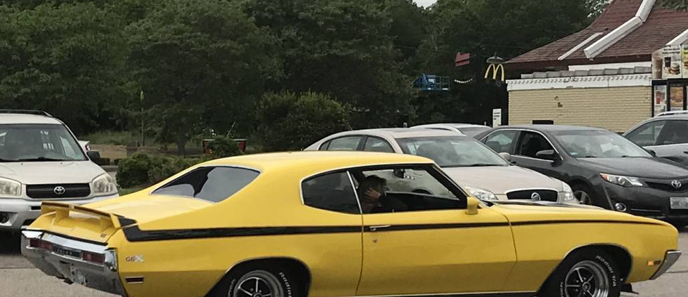 Is that a rare Buick GSX we see cruising through the McDonalds cruise sho field ?  Wow.