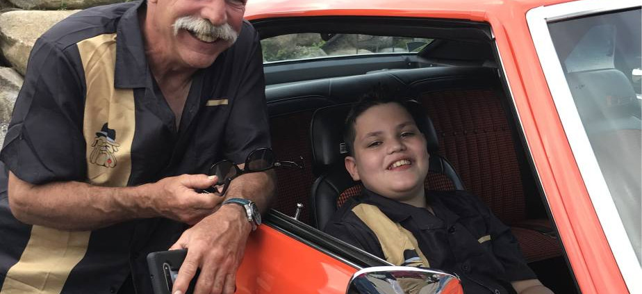 It was an excellent grandson-grandfather bonding night with Frankie G's 1969 Camaro.