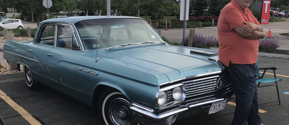 The originality of this 1963 Buick 4-door sedan was impressive.  What a neat ride.