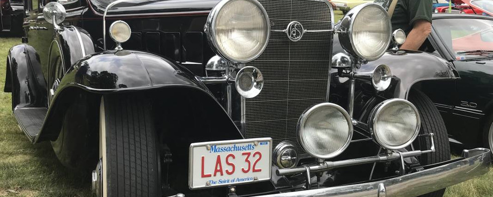 From a classic, bygone era...this 1932 LaSalle.  The LaSalle brand was dropped after the 1940 model year.