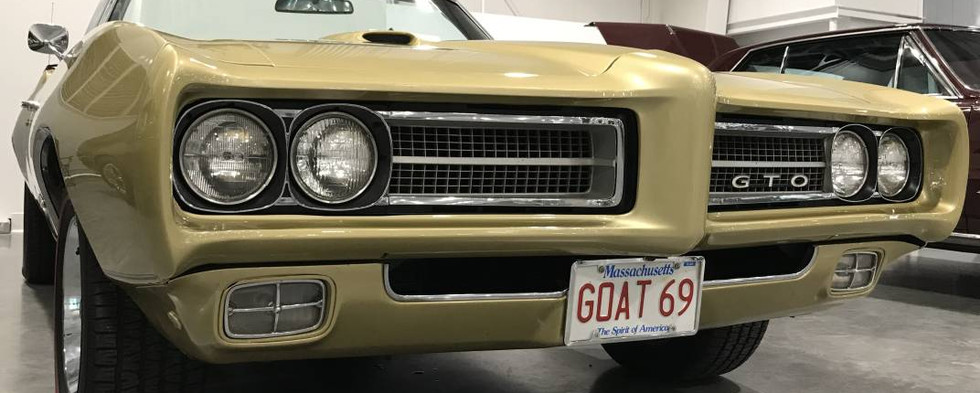 Love the plate on this '69 GTO.