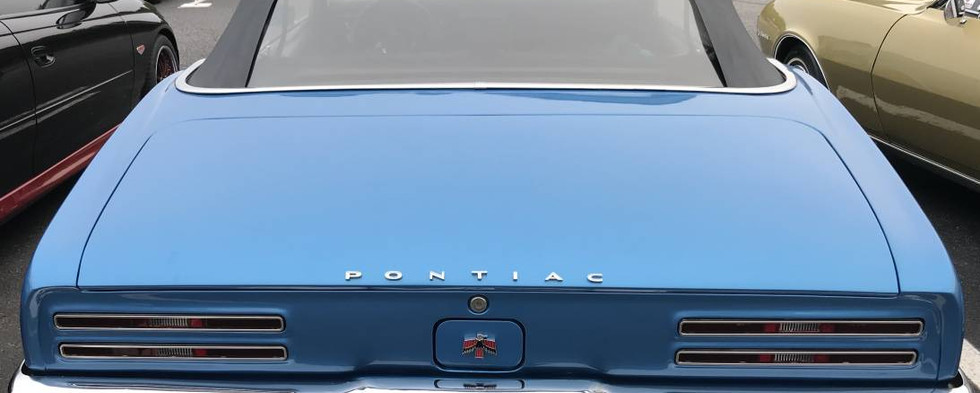 This first-generation Firebird was a ragtop, up to show from the empire state.