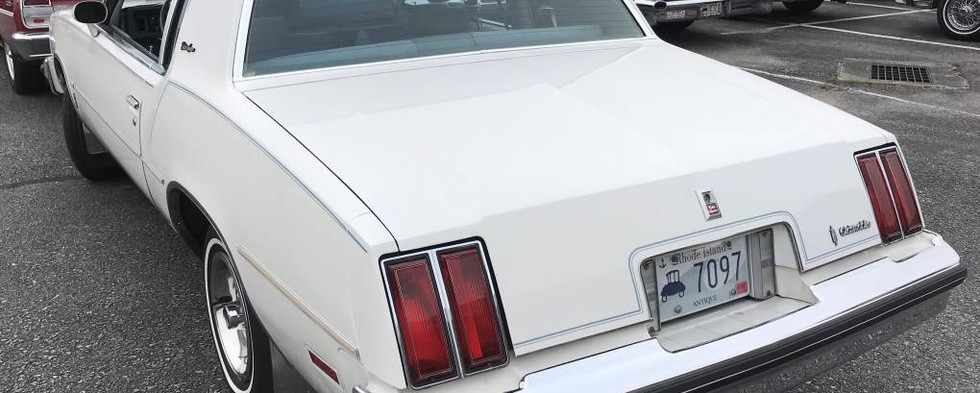 A late-70sd Olds Cutlass made the scene.