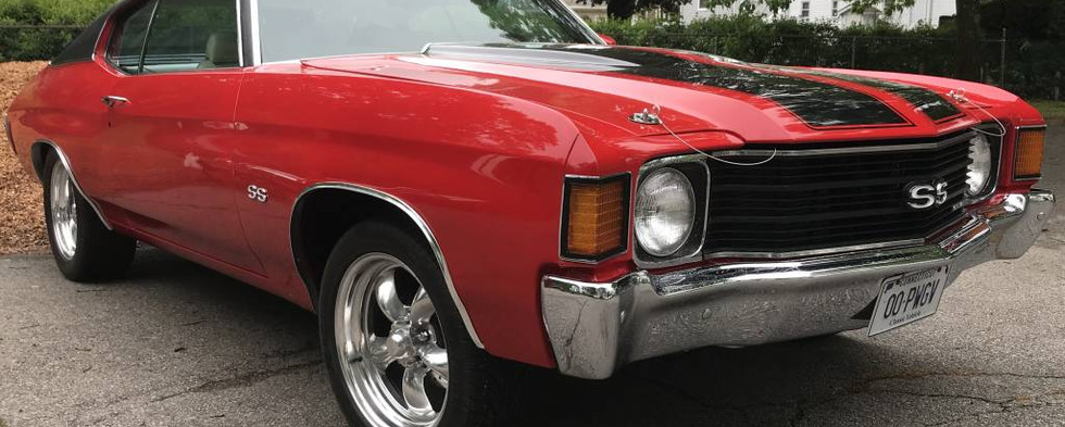 This 1972 Chevy Chevelle SS was wearing CT plates..proving the show is always worth the ride out...even under heavily cloudy skies.