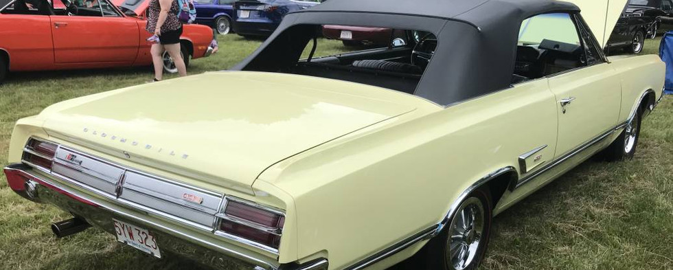A top-100 award went to this 1965 Olds 4-4-2 convertible.