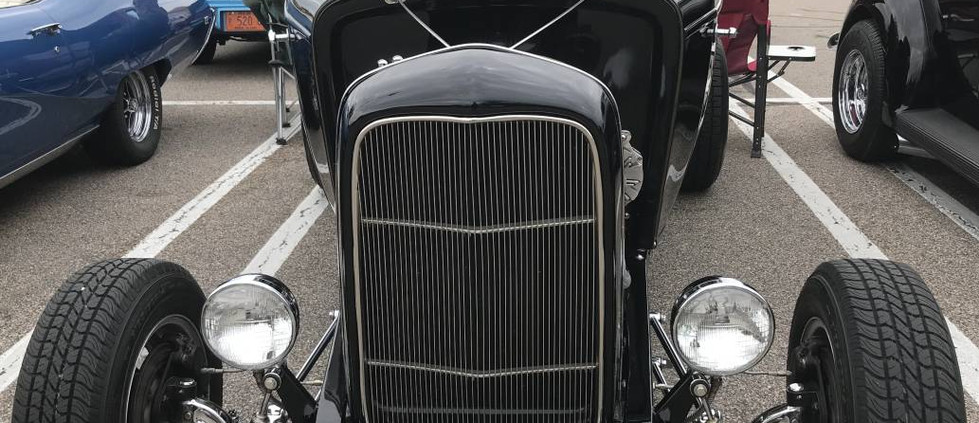 Street Rods are a popular favorite at the RICOA cruise night.  Check out this infe example.