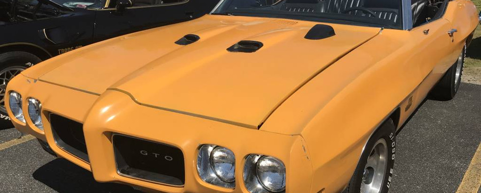 This 1970 convertible was one of many GTOs that found their way to Woonsocket for the day.