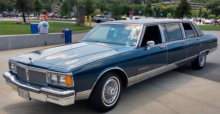 Merle G's 1986 Pontiac Parisienne limo is truly a one-of-a-kind.