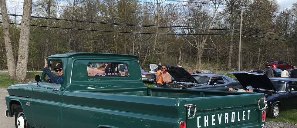 There's Randy R, heading out in the '66 Chevy pickup his family has owned since brand new.  See you next week, Randy !