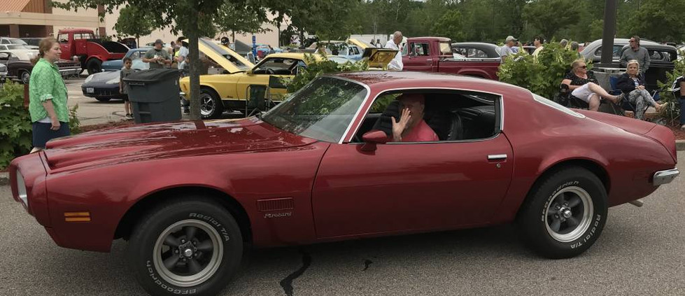 David T. had his '71 Firebird out to give Pontiac lovers a bit of a thrill.