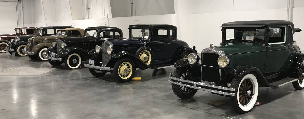 More of the earliest Pontiacs ever built, on display.  Pontiac production officially began in 1926.