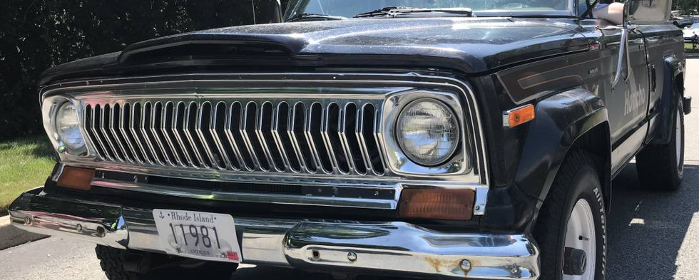 """For 8 years, Jeep offered this special """"Honcho"""" edition of their venerable pickup.  Only a little more than 1250 were made over the period...making this 1978 a rare truck indeed."""