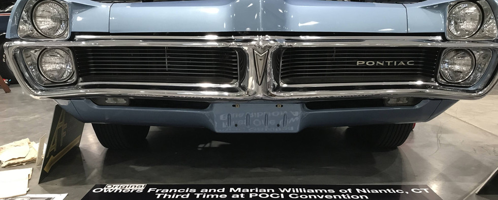 One of the lowest original mileage cars on display could be found in this '67.  It really did look as though it should be sitting on a showroom floor.