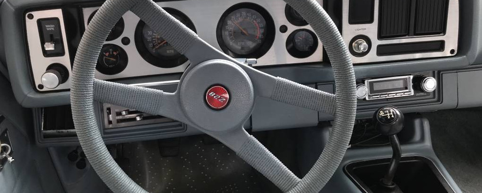 """Here, a peek inside the passenger compartment of a 1979 Chevy Camaro..from the era of the """"resurgence of the Z28."""""""