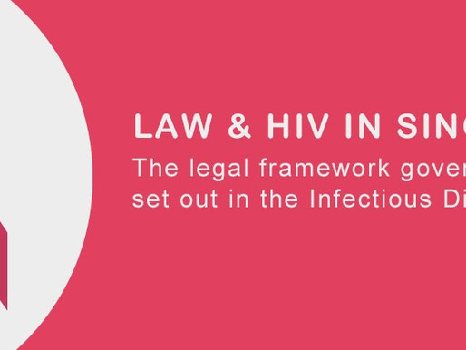 LAW and HIV in Singapore (AFA)