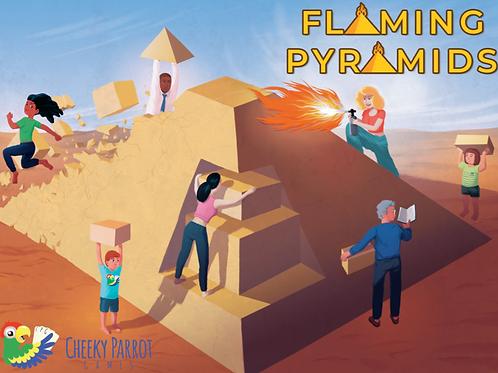 Flaming Pyramids