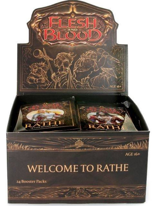 Flesh and Blood: Welcome to Rathe Booster Box