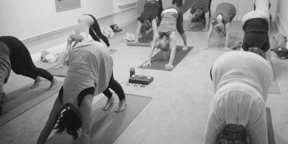 Tuesday 7-8pm Vinyasa Yoga