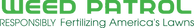 weed patrol, logo, lawn care, control