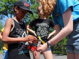 Our First Sun Race: July 9 Eco-Adventure Camp x QSDT Solar Car Workshop