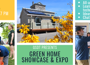 AUGUST 15 | Come out to our QSDT Green Home Showcase & Expo!