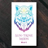 Sun Trine Moon logo