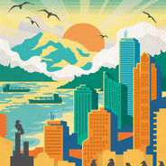 Discover Beautiful Vancouver poster