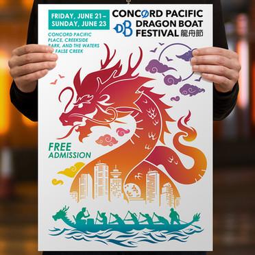 Concord Pacific Dragon Boat Festival poster