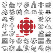 CBC Vancouver icon set