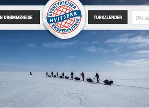 """Følg""""vår"""" guide Morten på hans ferd over Grønland som leder for Hvitserk"""