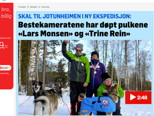 TV2 om vår neste ekspedisjon