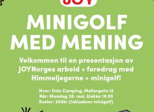 Foredragskveld med Joy Norge - Mandag 28.mai - Oslo