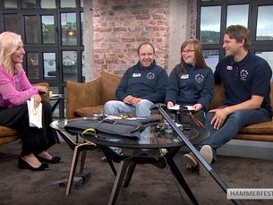 Se Himmeljegernes besøk på TV2s God Morgen Norge - video