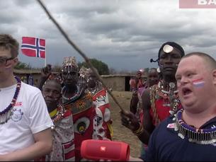 17.mai med Masaier, Simen og Mads